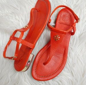 TORY BURCH LEATHER SANDAL SZ 6.5